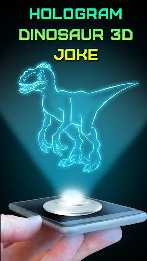 Hologram Dinosaur 3D Joke