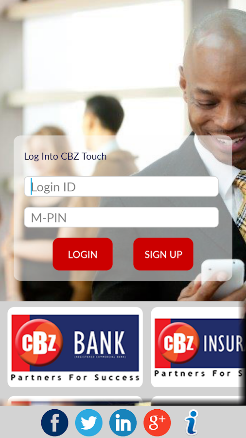 CBZ Touch- screenshot
