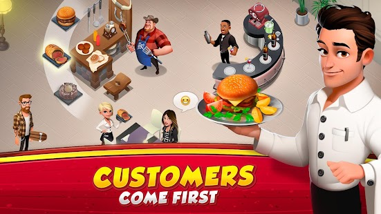 ApkMod1.Com World Chef APK + MOD (Instant Cooking) Android free Android Casual Game