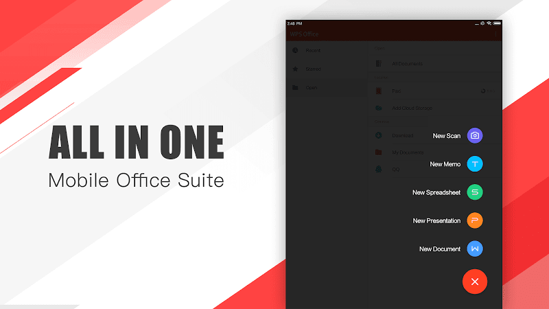 WPS Office - Word, Docs, PDF, Note, Slide & Sheet Screenshot 16