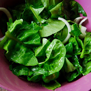 Garden Salad with Lemon Vinaigrette