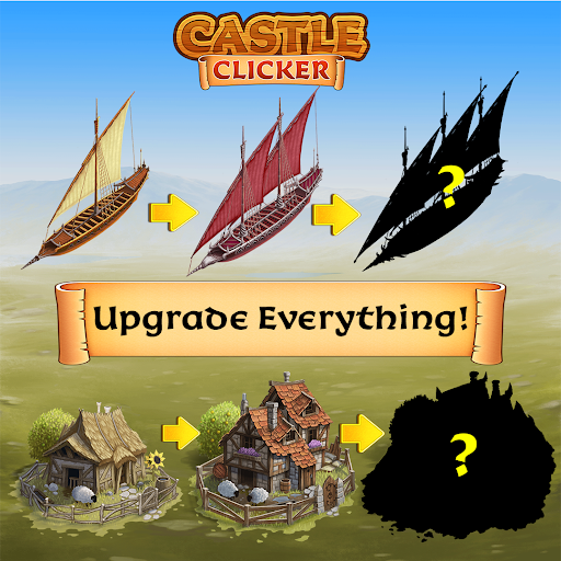 Code Triche Castle Clicker: Build a City, Idle City Builder  APK MOD (Astuce) screenshots 2