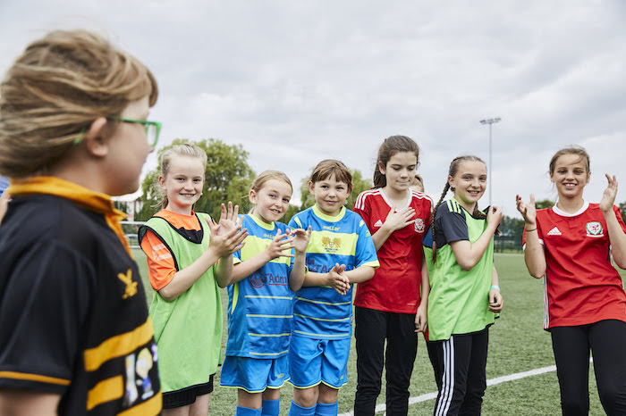 Local football team becomes part of Wales-wide scheme