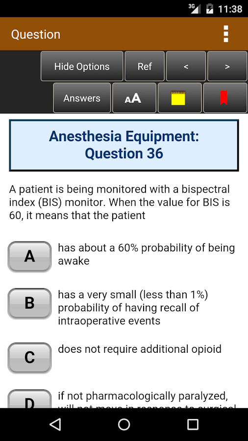 Anesthesiology Board Review- screenshot
