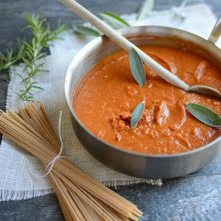 Tuscan Pumpkin Pasta Sauce.