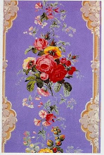 Photo: 1860, ENGLISH MADE, OF A STYLE POPULAR SINCE 1830'S. THIS KIND OF PAPER WAS CALLED FLORID AND GAUDY BY THE 1870'S