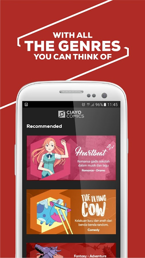CIAYO Comics - Free Webtoon Comics- screenshot
