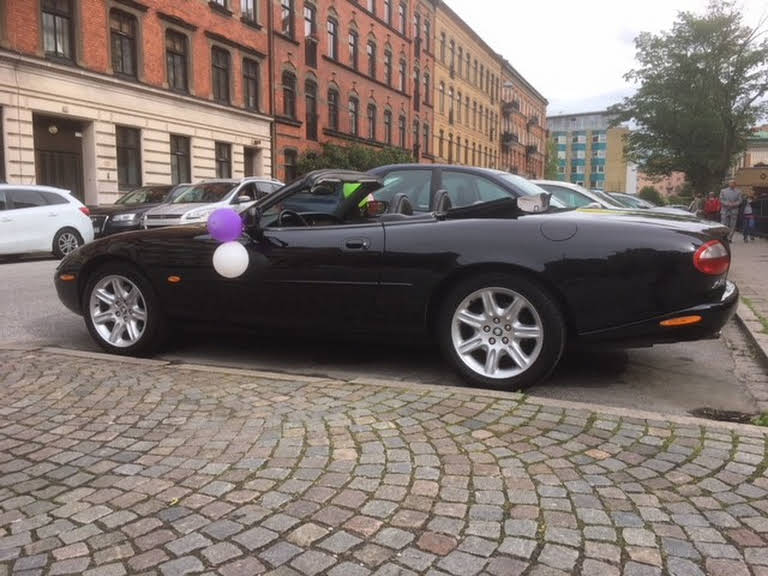 Jaguar Xk8 Hire Malmö