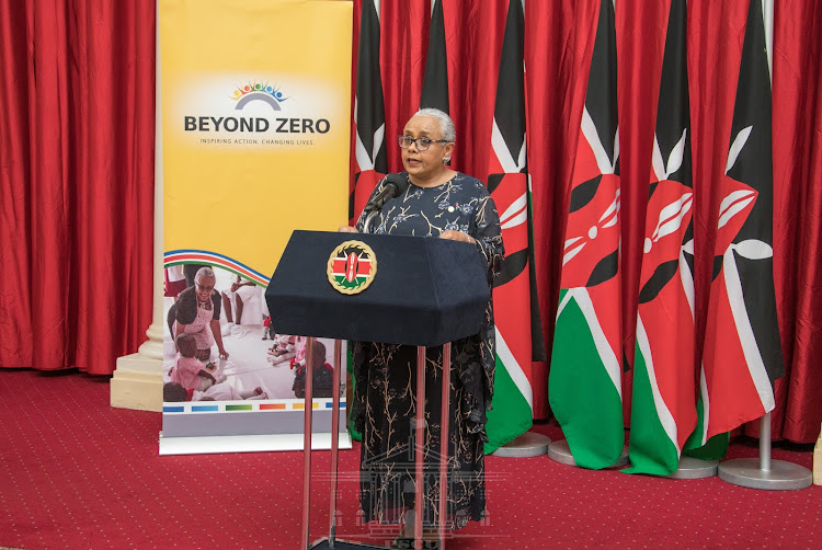 First Lady Margaret Kenyatta.