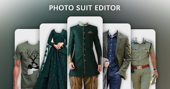 Photo Suit Editor : Men & Women Suit Fashion Dress 1