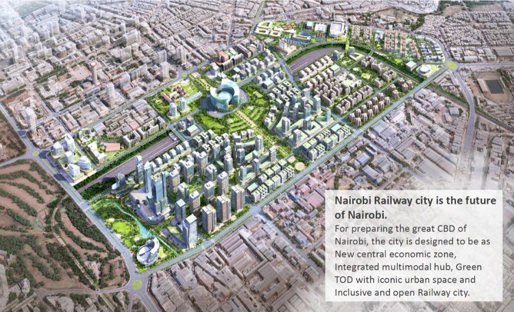 The Proposed Nairobi Railway City