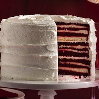 18 Layer Red Velvet Cake.