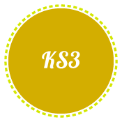 KS3 in yellow circle