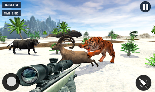 Tiger Hunting game: Zoo Animal Shooting 3D 2020 apkpoly screenshots 8