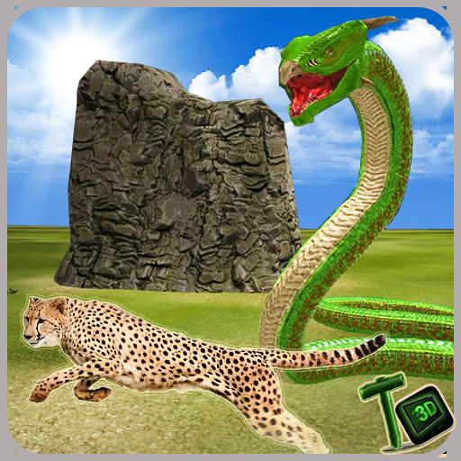 Venom Anaconda Snake Attack 3D