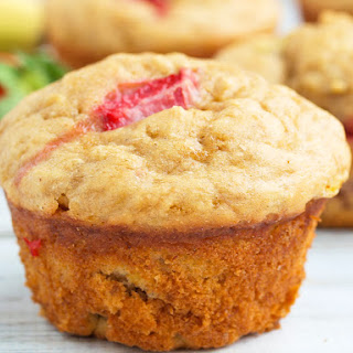 Strawberry Banana Yogurt Muffins