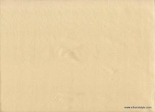 Photo: Mysore 20 - Matching Plain Silk Taffetta - Sand