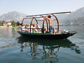 Photo: La barca tradizionale del lago di Como  (foto Alberto Faggioni)