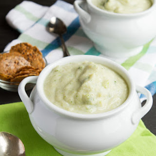 Vegan Cream of Broccoli Soup (Grain-free & Paleo).