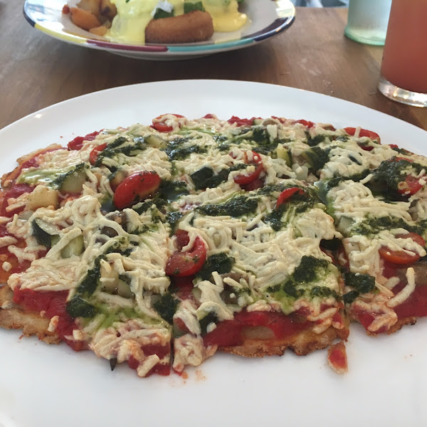 Vegan Skinny Bitch Pizza