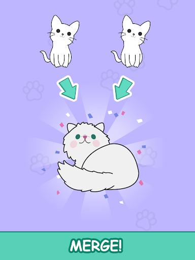 Cats Tower - Merge Kittens 2 2.18 screenshots 8