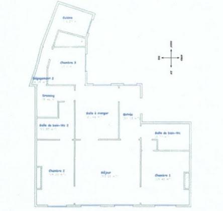 Vente appartement 5 pièces 157,21 m2