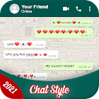Chat Styles: Stylish Fonts & Keyboard for WhatsApp