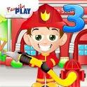 Fireman Kids 3rd Grade Games icon