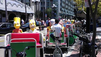 Photo: Gaslamp - Fox pedicabs