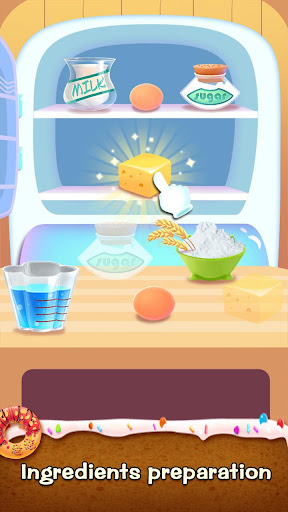 ud83cudf69ud83cudf69Make Donut - Interesting Cooking Game apkpoly screenshots 21
