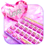 Pink Diamond Cards Keyboard Icon