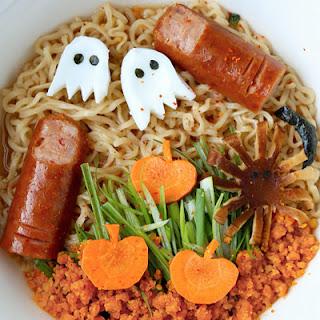 Halloween Ramen Noodles