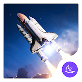 Rocket Sky Space-APUS Launcher stylish theme
