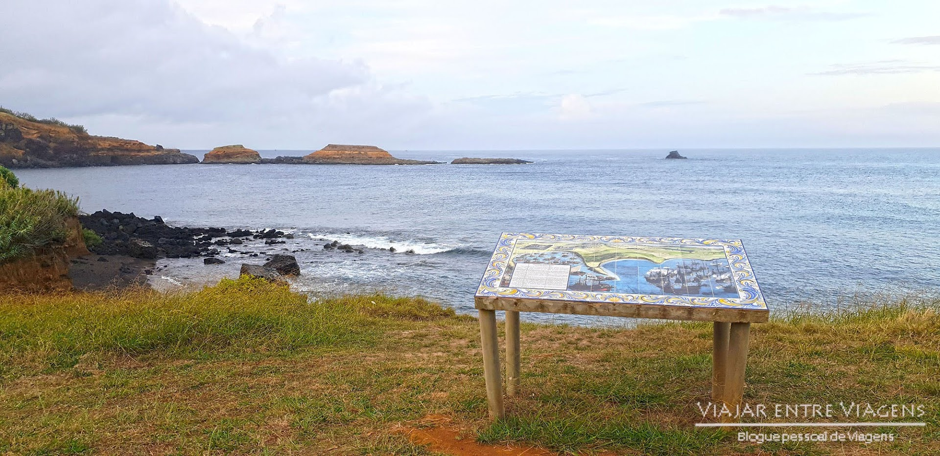 Conhecer a história da Baía de Porto de Mós, na ilha Terceira