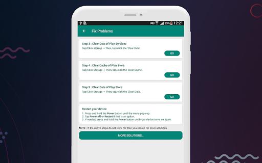 Fix Play Services 2020 (Update) 1.4 screenshots 8