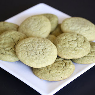Soft and Chewy Green Tea Cookies Recipe