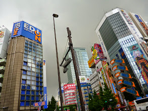 Photo: Black cloud over the sky in Akihabara, Tokyo.  4th July updated (日本語はこちら) - http://jp.asksiddhi.in/daily_detail.php?id=593