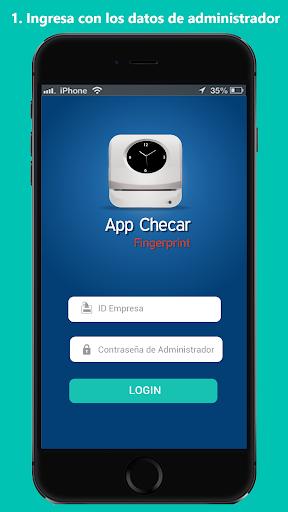 app checar fingerprint screenshot 1