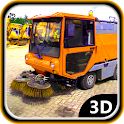 City Streets Sweeper Service icon