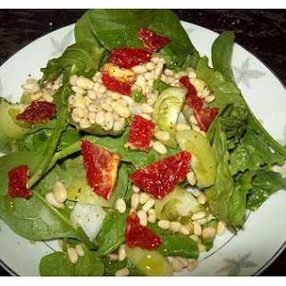 Raw Spinach Salad.