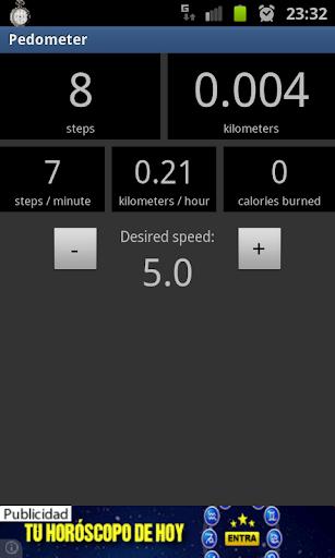 Pedometer screenshot 3
