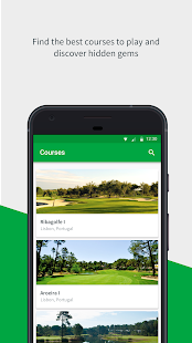 up.golf - náhled