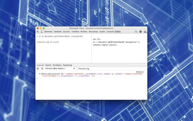 CirruScript Console