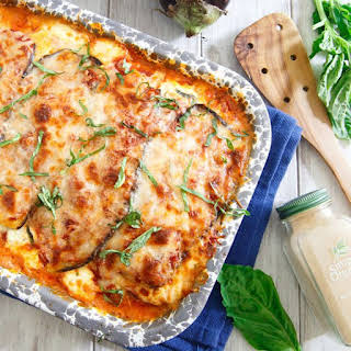 Roasted Eggplant Lasagna with Thyme.