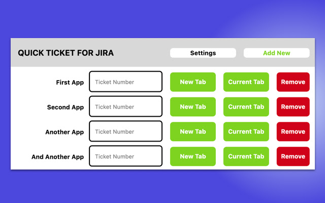 Quick Ticket For JIRA