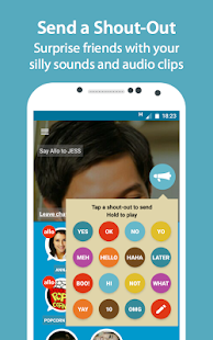 ALLO: Group Voice Chat- screenshot thumbnail