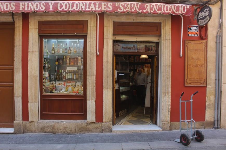 Tienda San Francisco de calle Castelar.