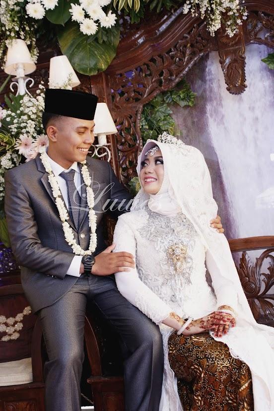 pengantin akad hijab syar'i