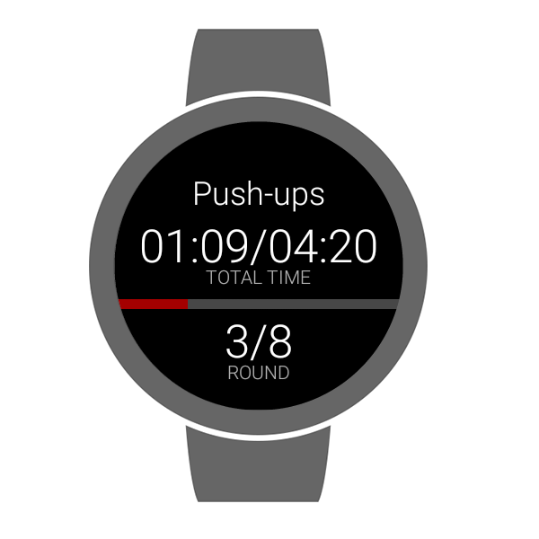 HIIT - interval training timer- screenshot