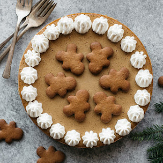 Lightened Up Gingerbread Cheesecake with Tofu